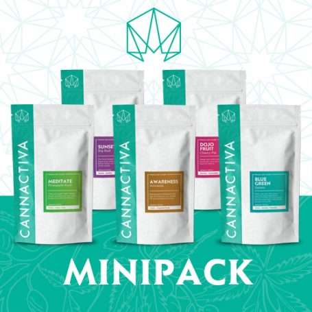 Mini Pack Flores de CBD Cannactiva