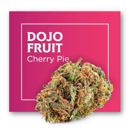 Flores de CBD Cannabis DOJO (Cherry Pie)