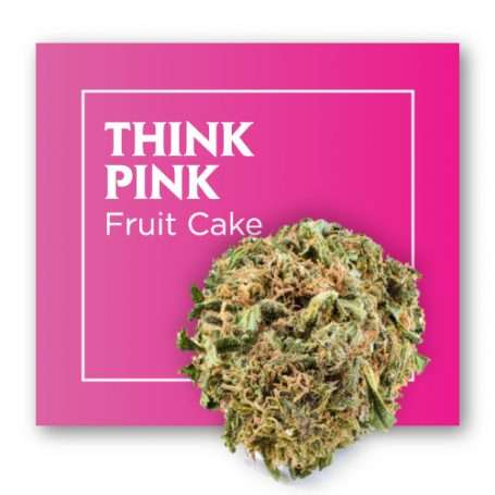 Comprar flor de CBD Cannabis THINK PINK (Fruit Cake)