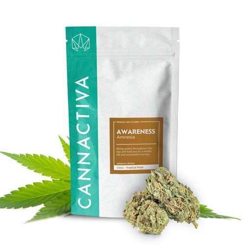 Compra flores de CBD Cannabis AWARENESS (Amnesia)