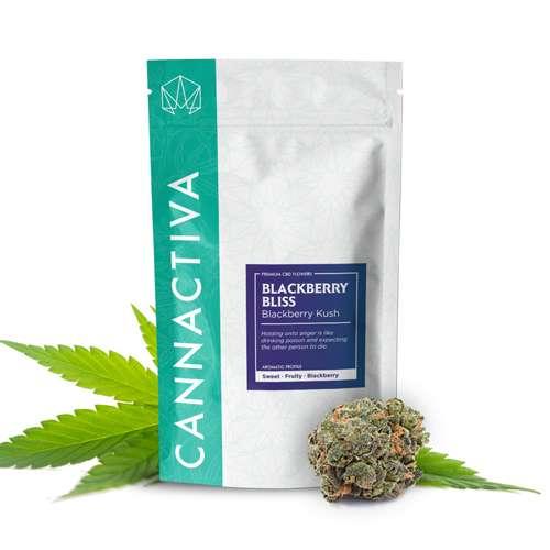 Flor de CBD, Blackberry Kush - Cannactiva