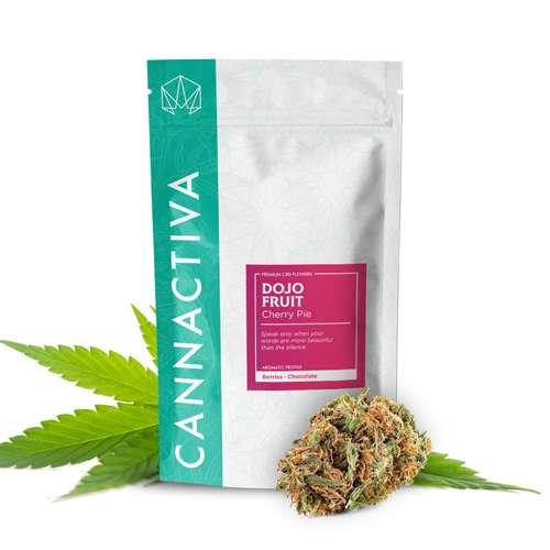 Compra flores de CBD Cannabis DOJO (Cherry Pie)